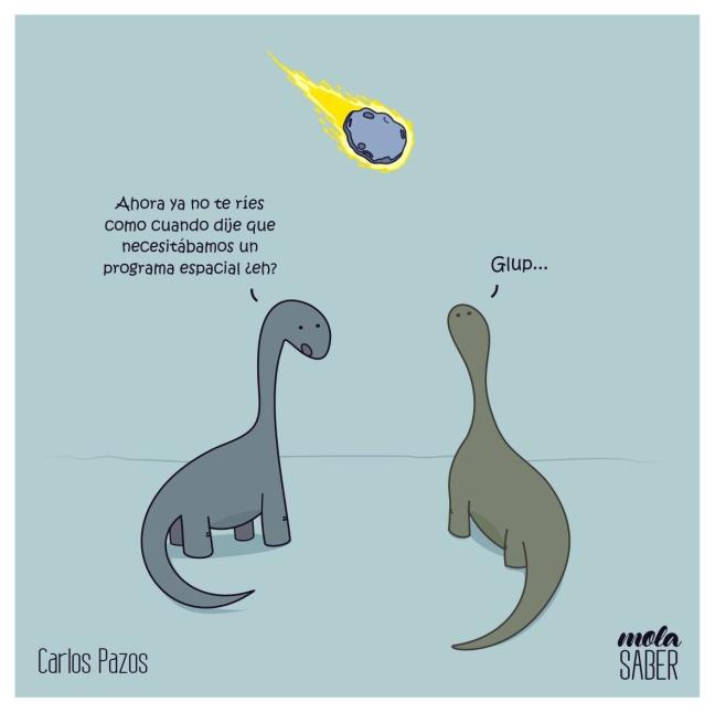 Dinosaurio meteoro