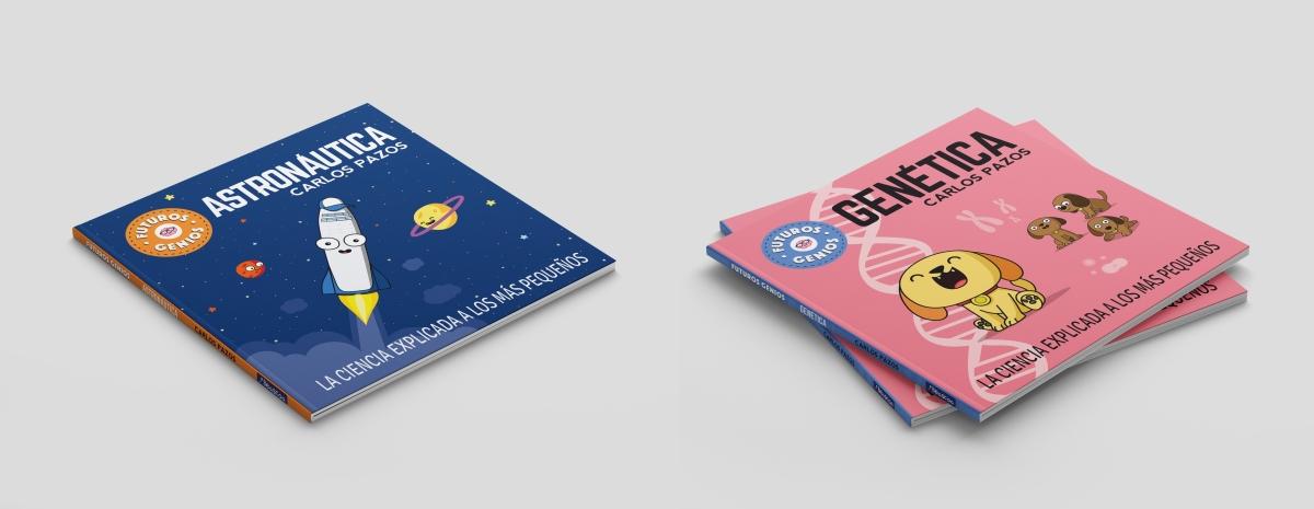 Futuros genios. Una colección de libros ilustrados de ciencia para niños.